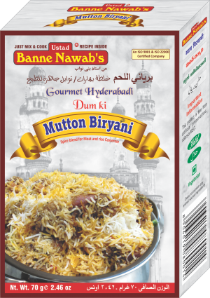 Hyderabadi Dum Ki Mutton Biryani