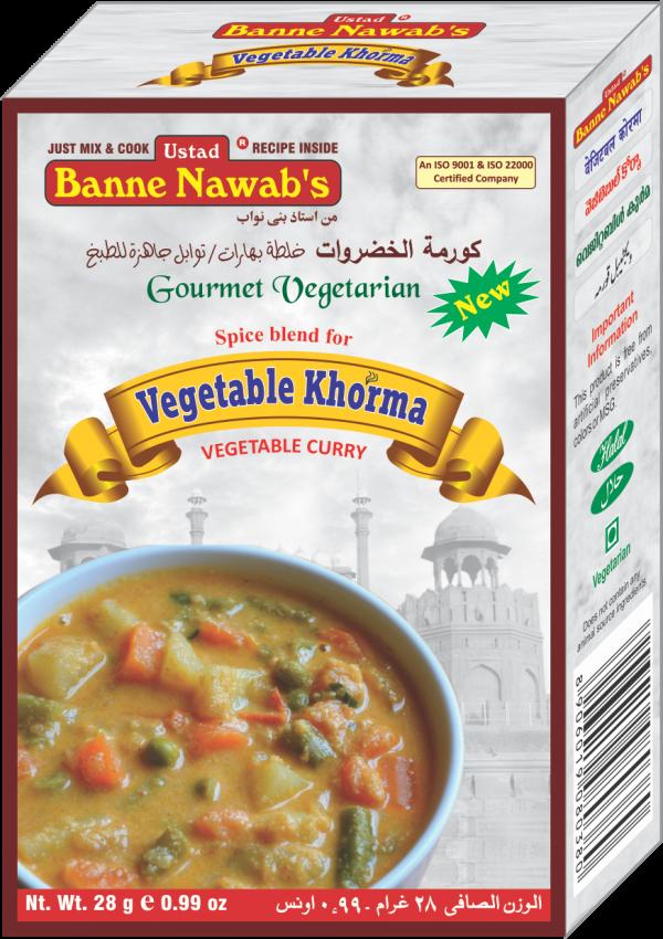 Vegetable Khorma